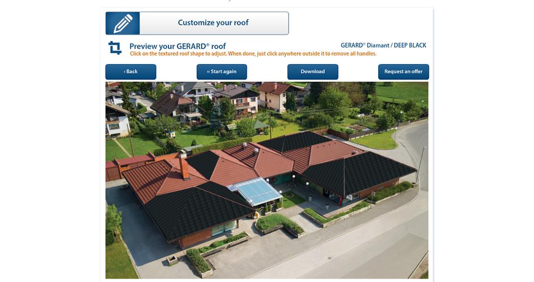Pozrite sa, ako bude vyzerať váš dom so strechou GERARD!