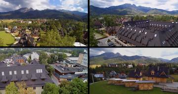 Video striech GERARD zachytené dronom pri prechode poľskými Tatrami v Zakopanom